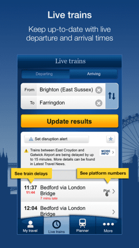 National Rail Enquiries 0